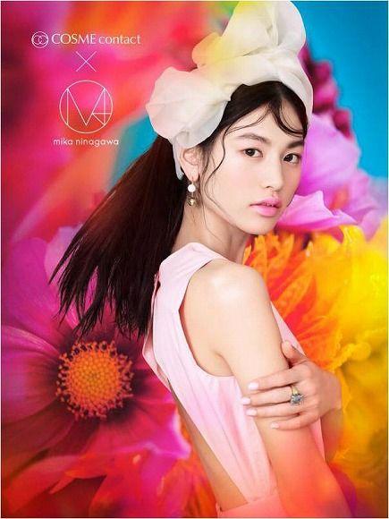 蜷川実花「M / mika ninagawa」のコラボカラコンは大和撫子風!? 琥珀や瑠璃など日本の伝統色がテーマです♪