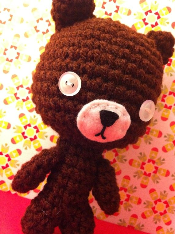 teddy with button eyes - Google Search