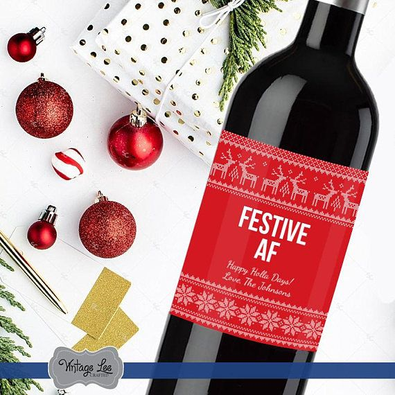 Best 25+ Christmas wine bottle labels ideas on Pinterest DIY - wine label