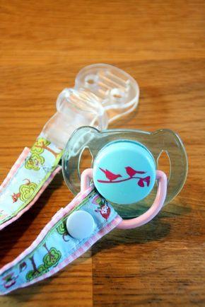 MamiTilli: Schnullerkette selber machen - Anleitung-