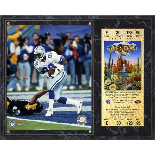 "Michael Irvin Dallas Cowboys Fanatics Authentic 12"" x 15"" Super Bowl XXX Sublimated Plaque with Replica Ticket - $39.99"