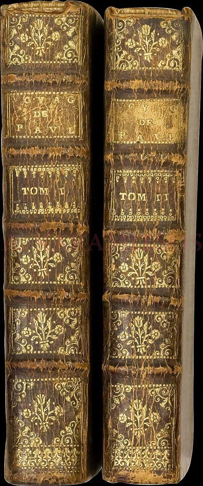 """Lucas Paul, """"Voyage du Sieur Paul Lucas fait par ordre du Roy dans la Grèce, l'Asie Mineure, la Macédoine et l'Afrique"""", Paris, Simart, 1712, complete in 2 volumes."""