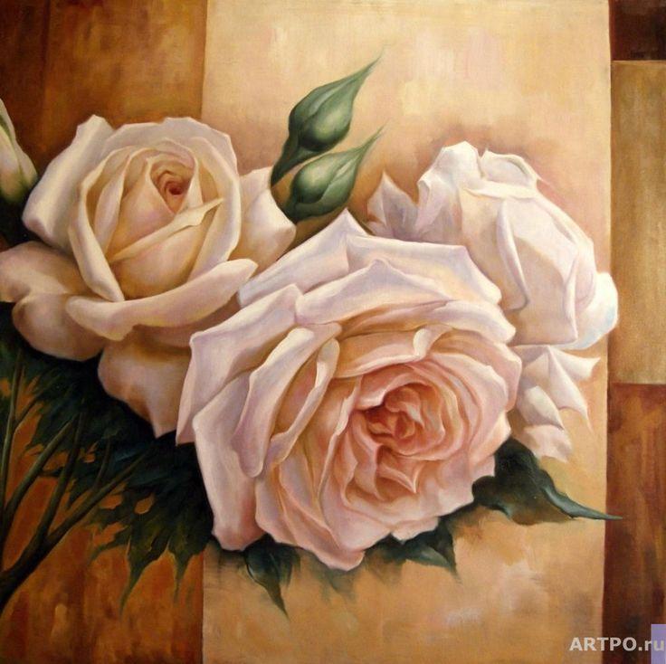 Кремовые розы - Смородинов Руслан