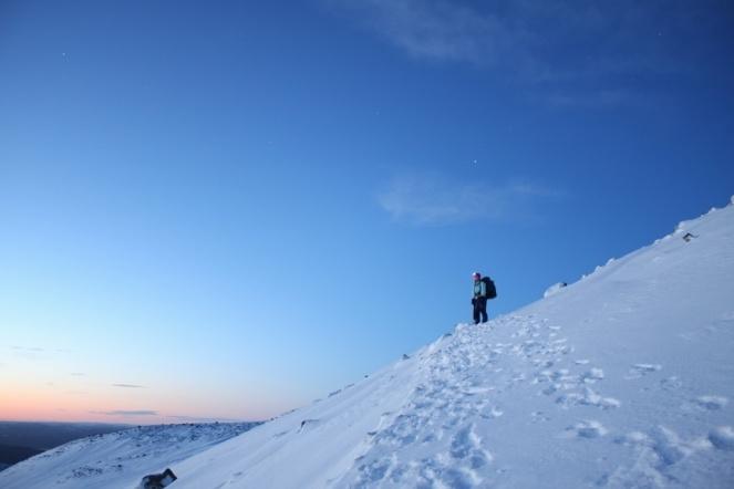 Haldde mountain in Northern Norway
