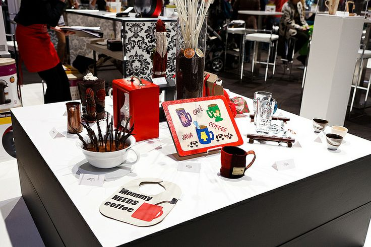 Coffee please! - Visit the One of a Kind Spring Craft Show with Maple Leaf Tours