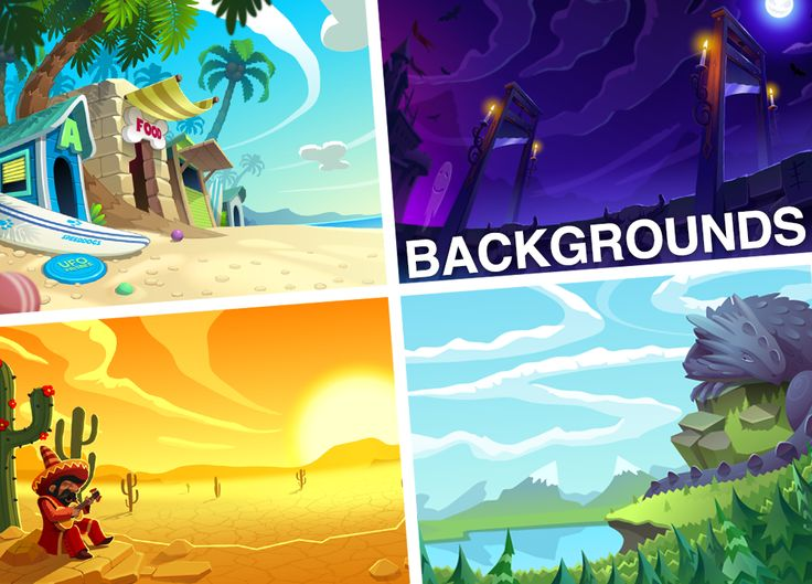 BackGrounds on Behance