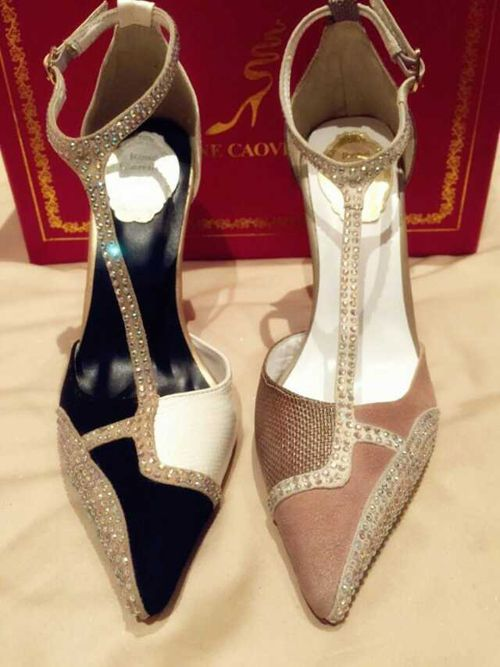 clearance best place free shipping official site Saint Laurent Crystal Powder Round-Toe Loafers cheapest TKvZC
