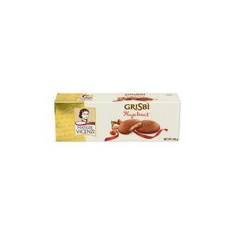 Sladké pečivo - Grisbí hazelnut cream - sušenky s lískooříškovou náplní 150g