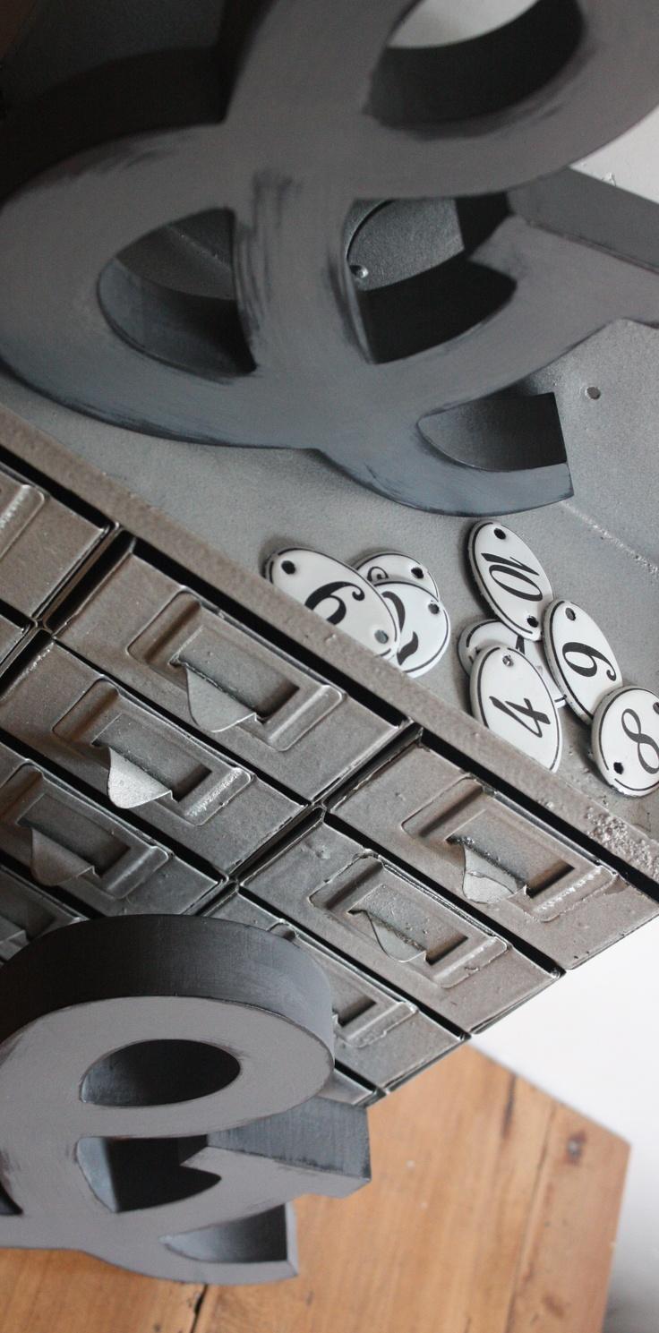 Meubles et objets anciens patin s esprit industriel lampe cadre miroir d - Deco industriel vintage ...