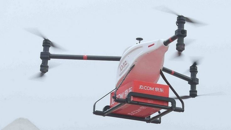 Drones, robots and self-driving vans will soon deliver your packages in this Chinese city --   Online retailer JD.com will test its smart logistics technologies, including robots, drones and autonomous delivery vehicles, in Tianjin as part of a smart city initiative. || SCMP