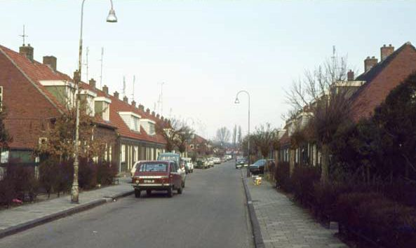 1978. Mendes Da Costastraat, nu de J.B. van Loghemstraat.