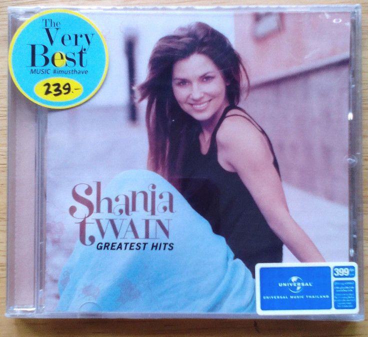 [CD-New] Shania Twain - Greatest HIts : Record Label by Universal/Mercury #ContemporaryCountry Sales Price : US$10.99 + US$4.99 Shipping Cost (World WIde)