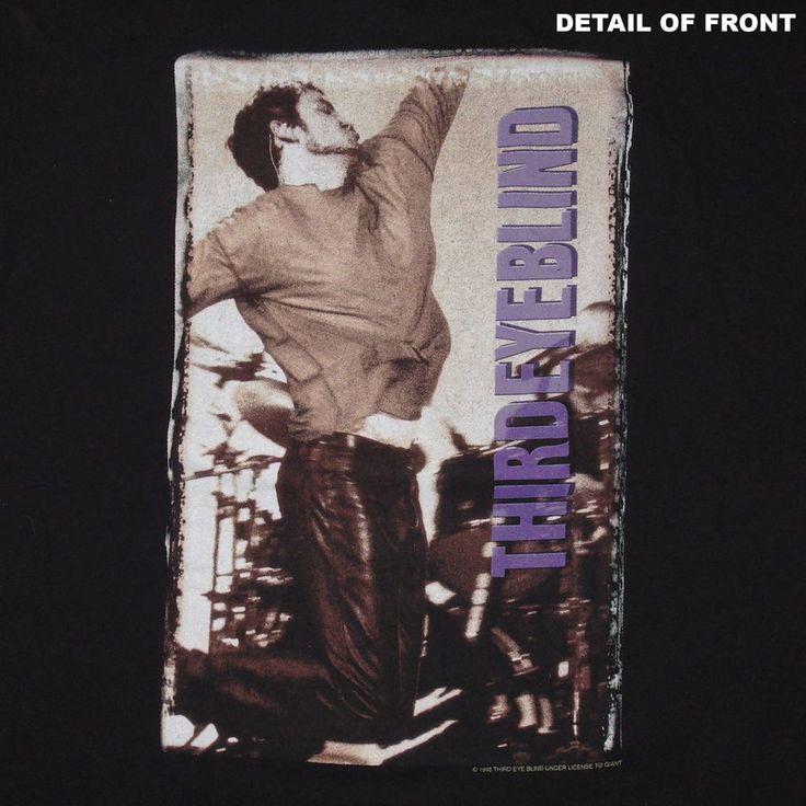 1998 Third Eye Blind Bonfire Tour Concert T-Shirt Size Large EXCELLENT Condition