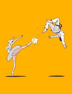 patada balerina