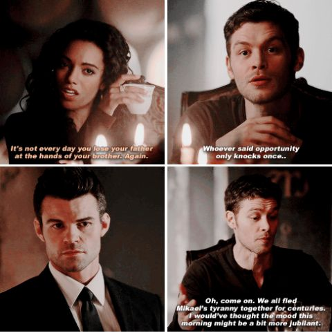"#TheOriginals 2x19 ""When the Levee Breaks"" - Rebekah, Elijah and Klaus"