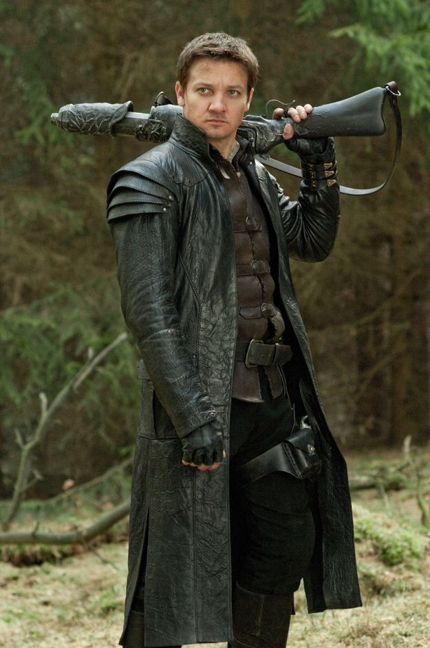 "This costume is amazing - Jeremy Renner in ""Hansel and Gretel: Witch Hunters"""
