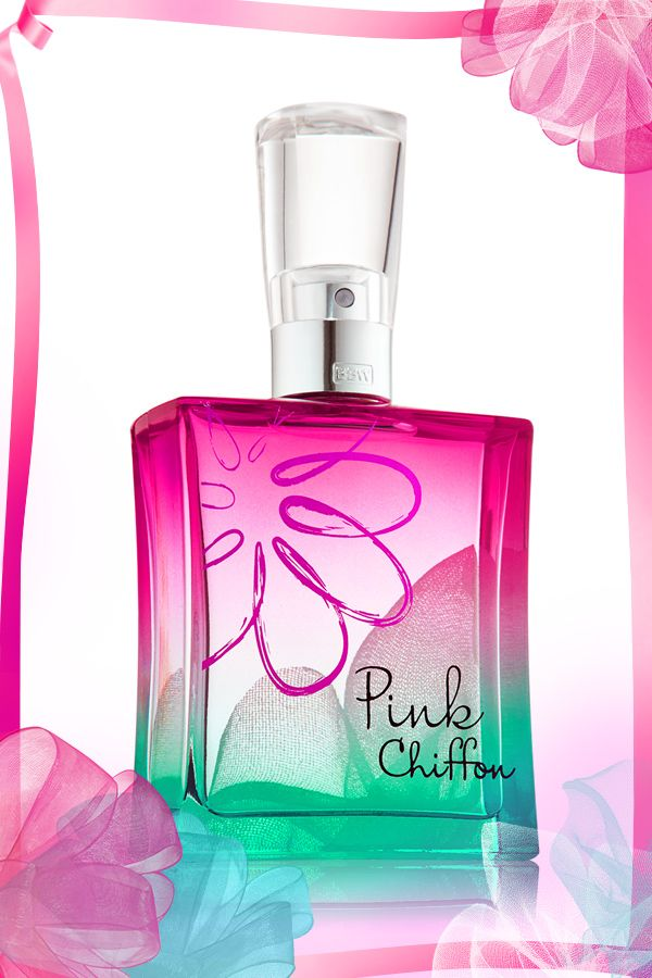 Everything is prettier with flirty fragrance! #PinkChiffon