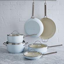 Greenpan® Nonstick 10-Piece Cookware Set - Aqua | west elm