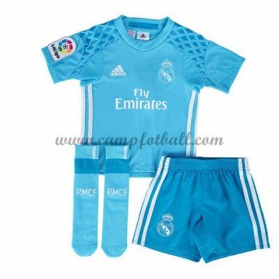 Fotballdrakter Barn Real Madrid 2016-17 Keeper Hjemme Draktsett