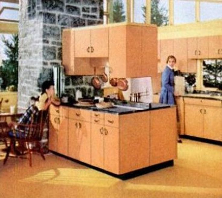 1950s Kitchen Cabinets: 1000+ Ideas About 1950s Kitchen On Pinterest