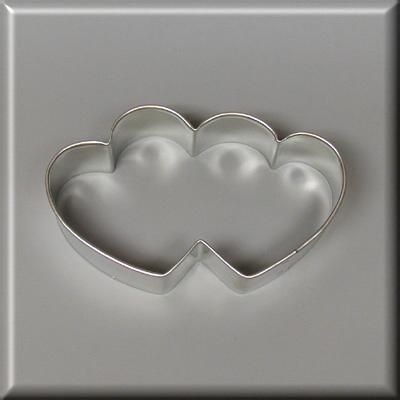 3.5 Double Heart Cookie Cutter 3.5 Double Heart Cookie Cutter/Discount Holiday Cookie Cutters [D4005] - $1.15 : Discount Holiday Cookie Cutters, and everything in between  #CookieCutters  http://discountholidaycookiecutters.com