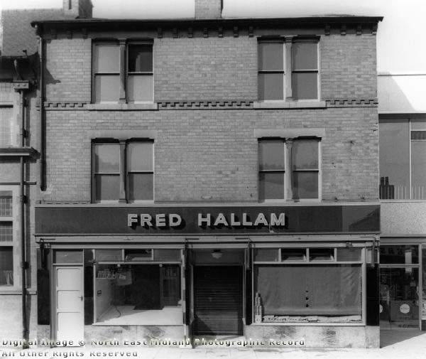 Fred Hallam, 23 High Road, Beeston, c 1960 - still thriving today.