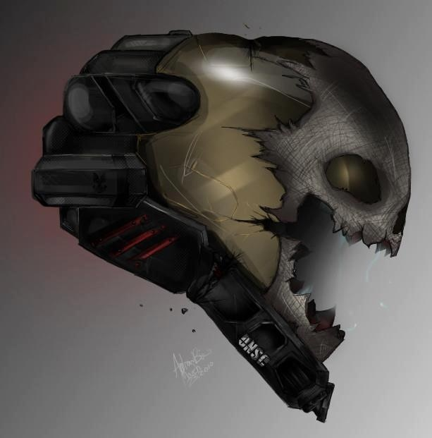 halo reach how to get skull helmet