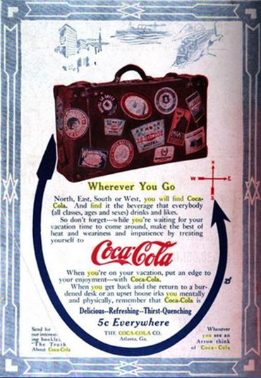 16 best coca cola advertising throughout its history images on pinterest advertising vintage. Black Bedroom Furniture Sets. Home Design Ideas