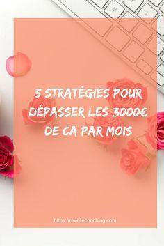 Découvrez mes 5 stratégies pour trouver des clients régulièrement et atteindre votre prochain parler de chiffres d'affaires.