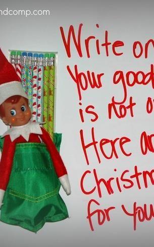 Elf on the Shelf ideas!