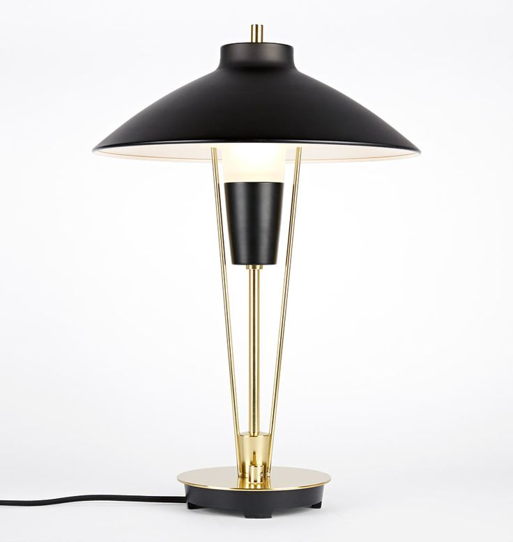 Ensley table lamp aged brass oil rubbed bronze shade aged brass oil