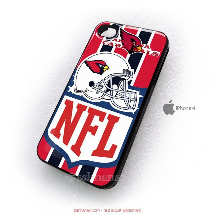 Arizona Cardinal Roster Helmet NFL iPhone 4,4s Case
