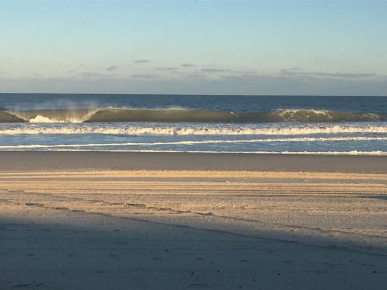 There has been some nice waves the past two days! Weeew tons of fun! #outerbeaches #hatterasfun #hatteras #island #obx #beach #view #ocean #sand #water #relax #fall #weather #wind #waves #fish #surf #family #friends #peace