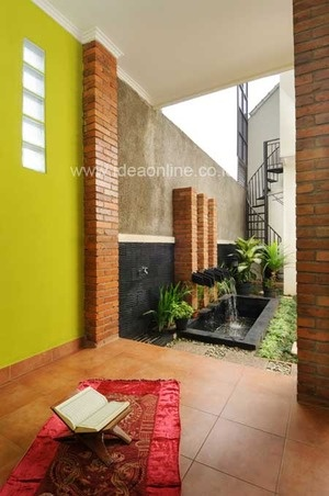 8 best images about desain taman rumah modern minimalis for Design apartment kecil