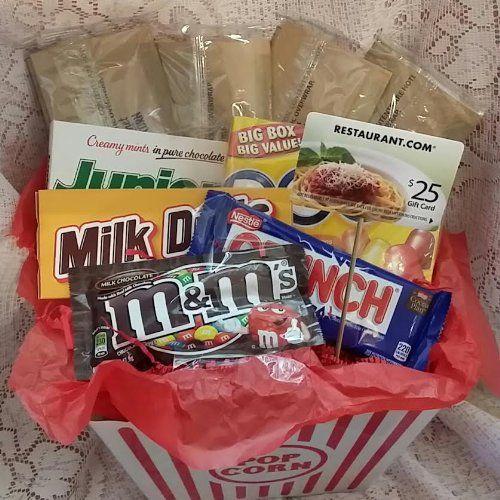 Best 25+ Popcorn Gift Baskets Ideas On Pinterest