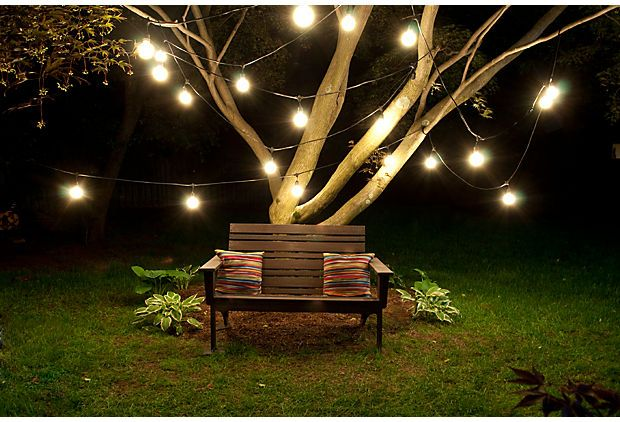 One Kings Lane - A Hip Haven - Brooklyn Outdoor String Lights Kit
