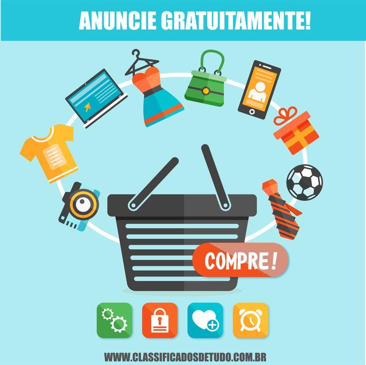 Anuncie gratuitamente nos classificados de tudo: www.classificadosdetudo.com.br