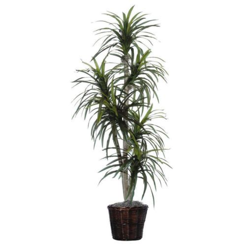 Captivating Beautiful Lush Green Artificial Plant 6 Feet Fake Trees Home Office
