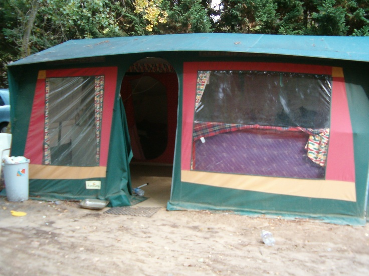 The tent where I lived onsite