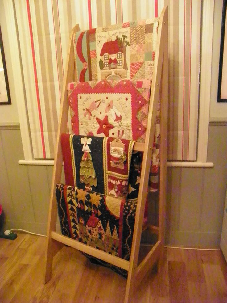a good way to display quilts