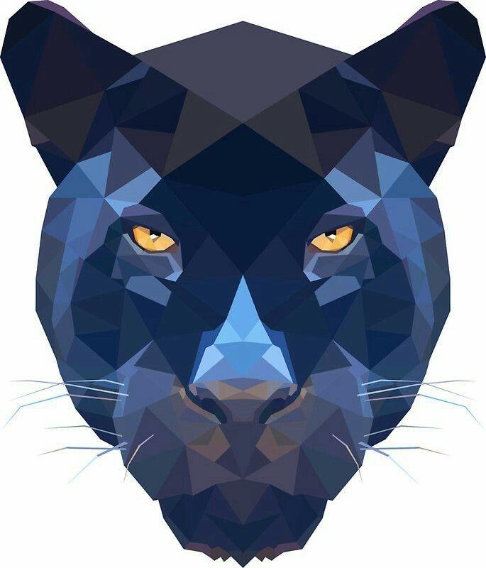 Pantera negra-azulado  eef76465a620d