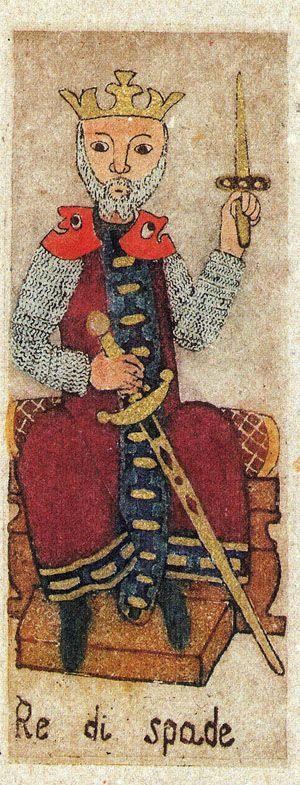 King of Swords - La Corte dei Tarocchi