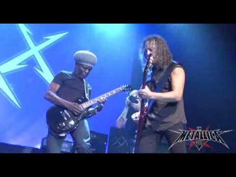 Metallica - Hit the Lights w/Dave Mustaine, Lloyd Grant, Ron McGovney - YouTube