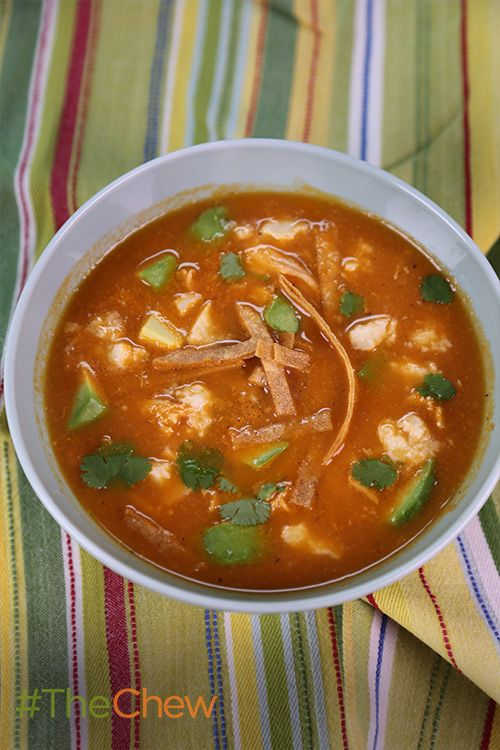 Don't miss out on Michael Symon's recipe for a classic Mexican Tortilla Soup!