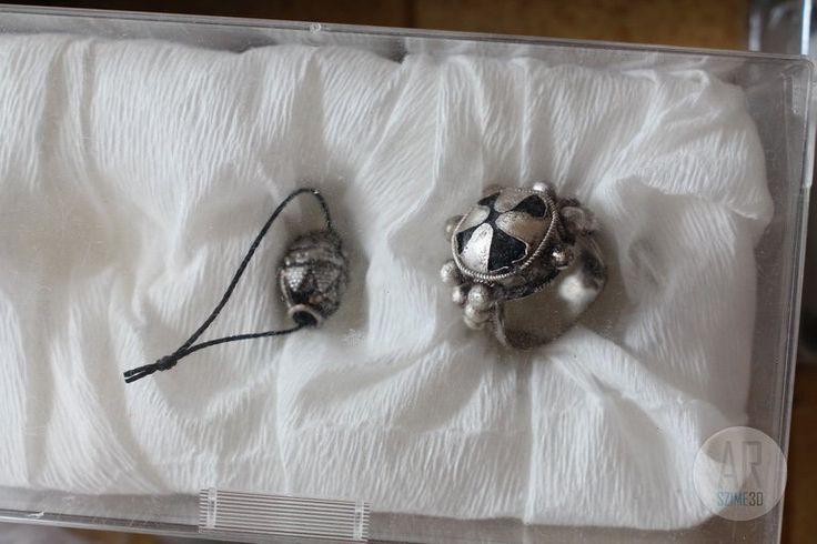 Conquest era grave of Tarpa - silver ring - Szime 3D AR