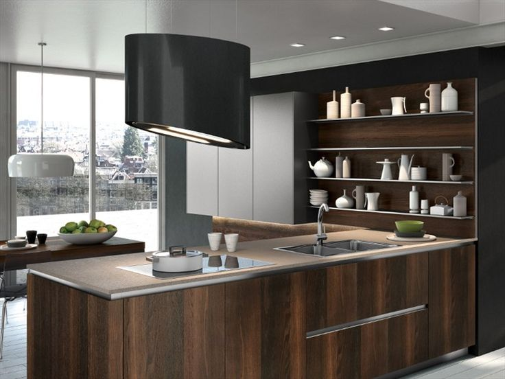 SUSPENDED COOKER HOOD WAY BY SNAIDERO