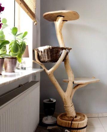 Unikat – Katzenbaum mit viel Liebe, Zeit und Herzblut selbst kreiert! Danke Papa