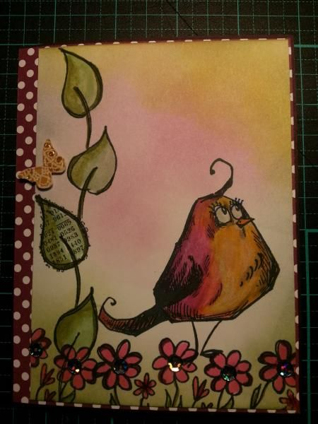In my garden by krobinson@chartermi.net - Cards and Paper Crafts at Splitcoaststampers