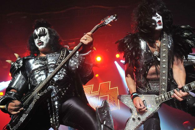 Who could forget Kiss and the stir they caused.