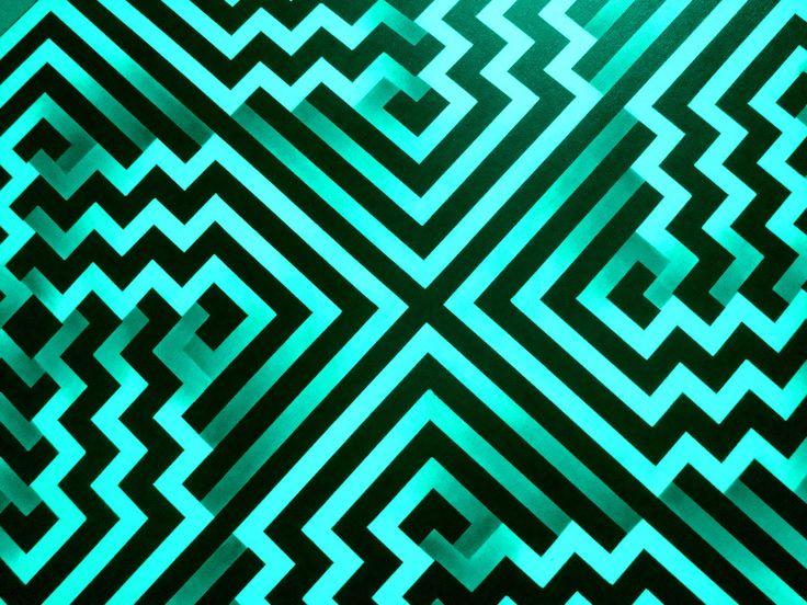 Omar Rayo goes Mint #mint #texture #pattern #print